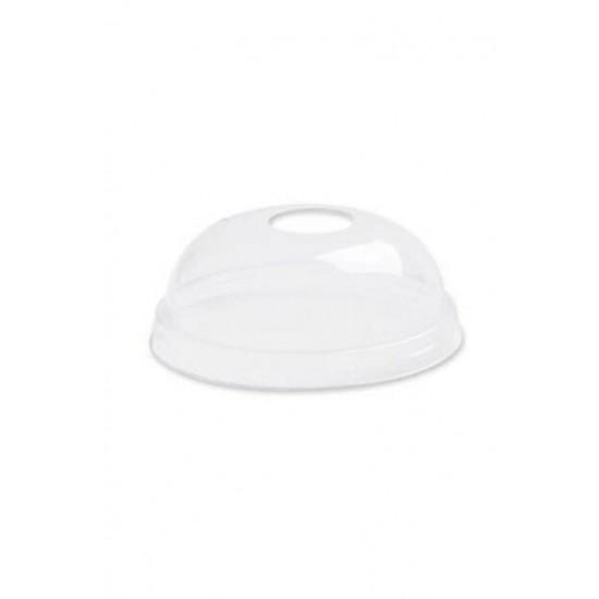 Plastik Bardak Kapağı 300 Cc 100 Adet